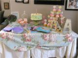 1st Birthday Party Table Decorations Britches and Boots A Place I Call Home Shabby Chic