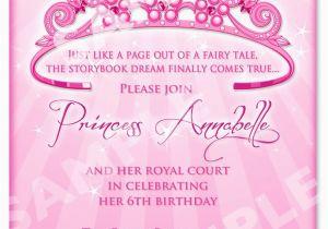 1st Birthday Princess Invitations Free Printables Printable Invitation Templates