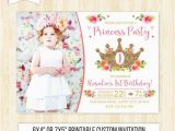 1st Birthday Princess Invitations Free Printables Princess Birthday Invitation 1st Birthday Girl Princess