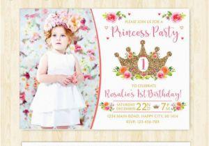 1st Birthday Princess Invitations Free Printables Invitation Girl