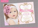 1st Birthday Princess Invitations Free Printables Princess Birthday Invitation Girl Gold Glitter by