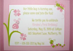 1st Birthday Quotes For Invitations Baby 1 Quote