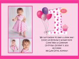 1st Birthday Quotes for Invitations Pink First Birthday Invitations Best Party Ideas