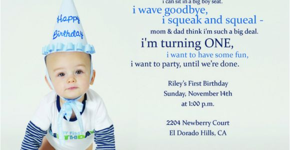 1st Birthday Rhymes for Invitations 9 Best H 1st Birthday Images On Pinterest Birthday Party