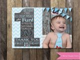1st Birthday Thank You Card Messages Birthday First Birthday Thank You Cards New Bambi