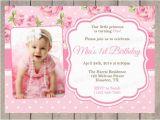 1st Year Baby Birthday Invitation Cards 23 Photo Birthday Invitation Templates Psd Vector Eps