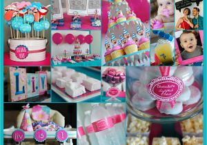 1st Year Birthday Decorations Elle Belle Creative One Old In A Flash First
