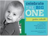 1st Year Birthday Invitation Templates 16 Best First Invites Printable Sample