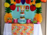 2 Year Old Birthday Decoration Ideas 2 Year Old Party Idea Fruit theme Party