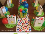 2 Year Old Birthday Decoration Ideas Ball themed Party for A 2 Year Old Teach Me Mommy