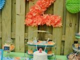 2 Year Old Birthday Party Decorations Kara 39 S Party Ideas Peach Stand 2nd Birthday Party with so