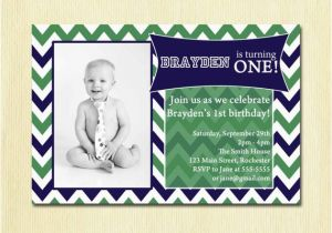 2 Year Old Boy Birthday Invitations 39 S Chevron Party Invitation Baby