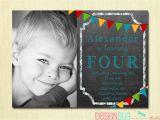 2 Year Old Boy Birthday Invitations Boys Chalkboard Birthday Invitation 1 2 3 4 5 Year