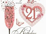 21 Birthday Cards for Daughter Daughter 39 S 21st Birthday Card 21 today Pink Cocktail