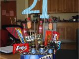 21 Birthday Gifts for Him 25 Unique 21st Birthday Basket for Girls Ideas On