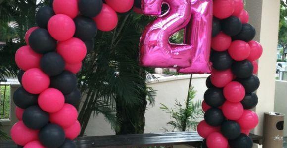 21st Birthday Balloon Decorations 21st Birthday Party Balloon Ideas Balloonparty Ie Blog