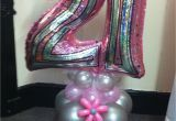 21st Birthday Balloon Decorations Age 21 Balloon On An Air Filled Base Great Centerpiece