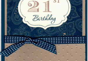 21st Birthday Cards For Son Stampin With Kim Happy To My