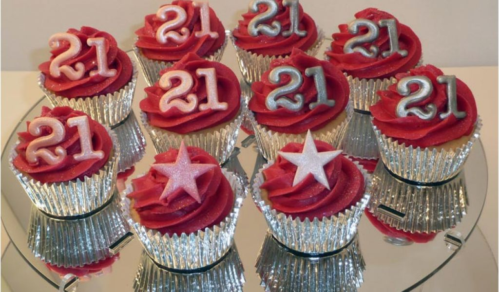 Download By SizeHandphone Tablet Desktop Original Size Back To 21st Birthday Cupcake Decorations