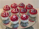 21st Birthday Cupcake Decorations 21st Birthday Cake and Cupcake Ideas Criolla Brithday