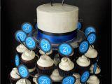 21st Birthday Cupcake Decorations 21st Birthday Cakes Mama Bear 39 S Kitchen