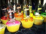 21st Birthday Cupcake Decorations 21st Birthday Cupcake Shots Gift Ideas Pinterest
