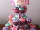 21st Birthday Cupcake Decorations 21st Birthday Giant Cupcake Cakes I 39 Ve Created