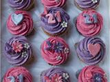21st Birthday Cupcake Decorations Hot Pink and Purple 21st Birthday Cupcakes for Emma Flickr