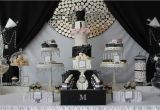 21st Birthday Decorations Black And Silver Runway Catwalk Fashion Party Ideas Photo 1 Of