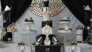 21st Birthday Decorations Black and Silver Runway Catwalk Fashion Birthday Party Ideas Photo 1 Of