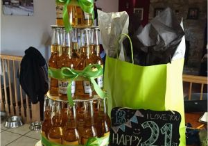 21st Birthday Decorations For Guys Corona Beer Bottle Cake Simple And Awesome Guy