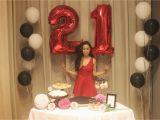 21st Birthday Decorations for Her original Kerchi 21st Birthday Celebration Part 1 Set Up