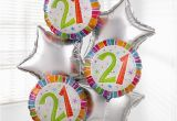 21st Birthday Flowers Delivered Uk Gift Delivery 21st Birthday Balloon Bouquet isle Of