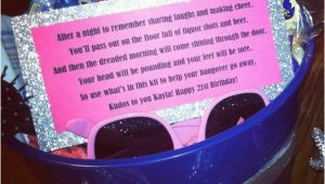 21st Birthday Gag Gifts for Him Hangover Kit Poem Google Search Caitlin 21st