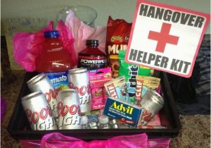 21st Birthday Gift Basket Ideas For Her To Be Gifts