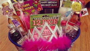 21st Birthday Gift Basket Ideas for Her Diy 21st Birthday Gift Ideas Lacalabaza