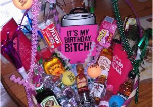 21st Birthday Gift Baskets for Her 21st Birthday Basket I Want This I Love It someone Make