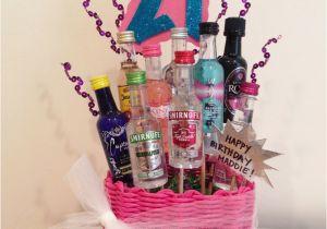 21st Birthday Gift Baskets for Her 21st Birthday Gift Basket My Gift Baskets Pinterest