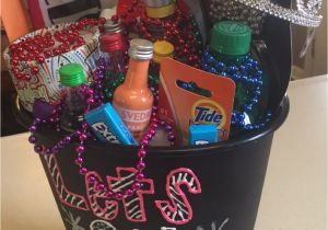 21st Birthday Gift Baskets for Her 21st Birthday Gift In A Trash Can Saying Quot Let 39 S Get