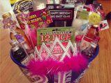 21st Birthday Gift Baskets for Her Diy 21st Birthday Gift Ideas Lacalabaza