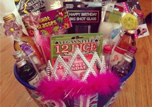 21st Birthday Gift Baskets for Her Diy 21st Birthday Gift Ideas Lacalabaza