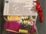 21st Birthday Gift for Him Ideas 30th Birthday Survival Kit Birthday Gift 30th Present for