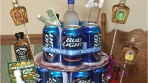 21st Birthday Gift for Him Ideas Beer Can Cake for 21st Birthday Birthday Craft