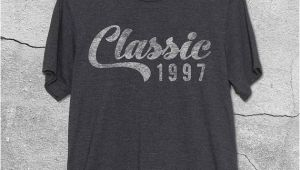 21st Birthday Gift Ideas for Him Uk 21st Birthday Gift for Her Him Classic 1997 T Shirt 21st