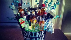 21st Birthday Gifts for Him Jewellery 21st Birthday Alcohol Bouquet for Him Alcohol Glitter