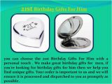 21st Birthday Ideas for Him Experiences 21st Birthday Gifts for Him