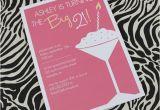 21st Birthday Invitation Templates Free 21st Birthday Invitation Template for Girls Download Print
