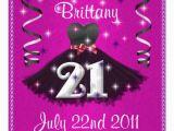 21st Birthday Invitations for Girls Happy 21st Birthday Party Invitations for Girls 5 25