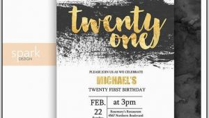 21st Birthday Invitations for Guys 21st Birthday Invitations Templates Guys Template