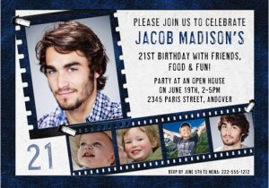 21st Birthday Invitations For Guys Party Invitation Ideas New